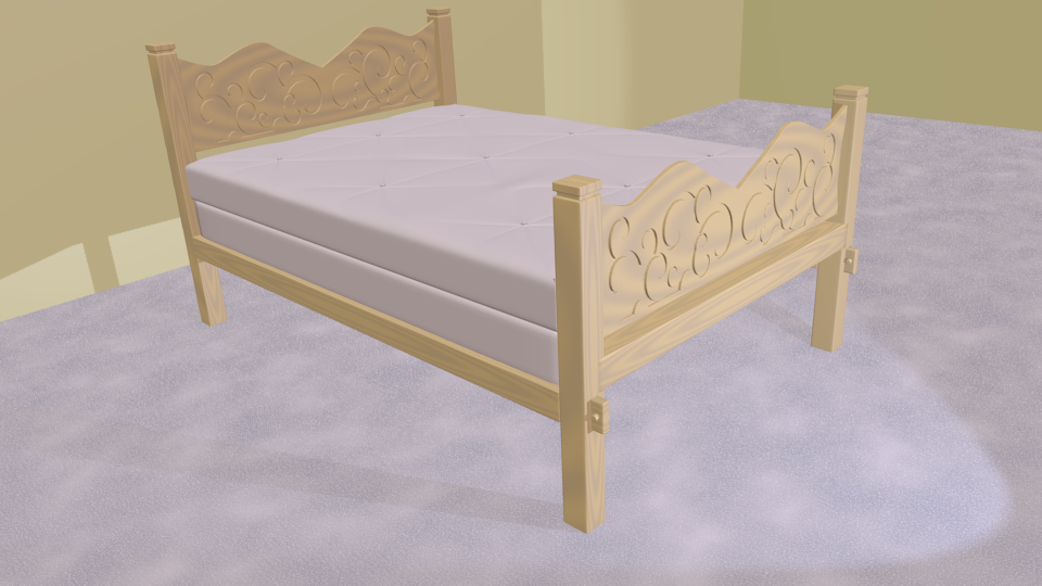 Blender Bed Rkingdom
