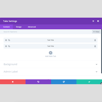 Divi Tabs Change On Hover Example